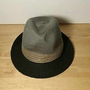 Knit Ladies Fedora Style Fashion Hat One Size